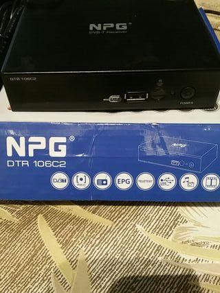 Decodificador receptor /grabador TV TDT