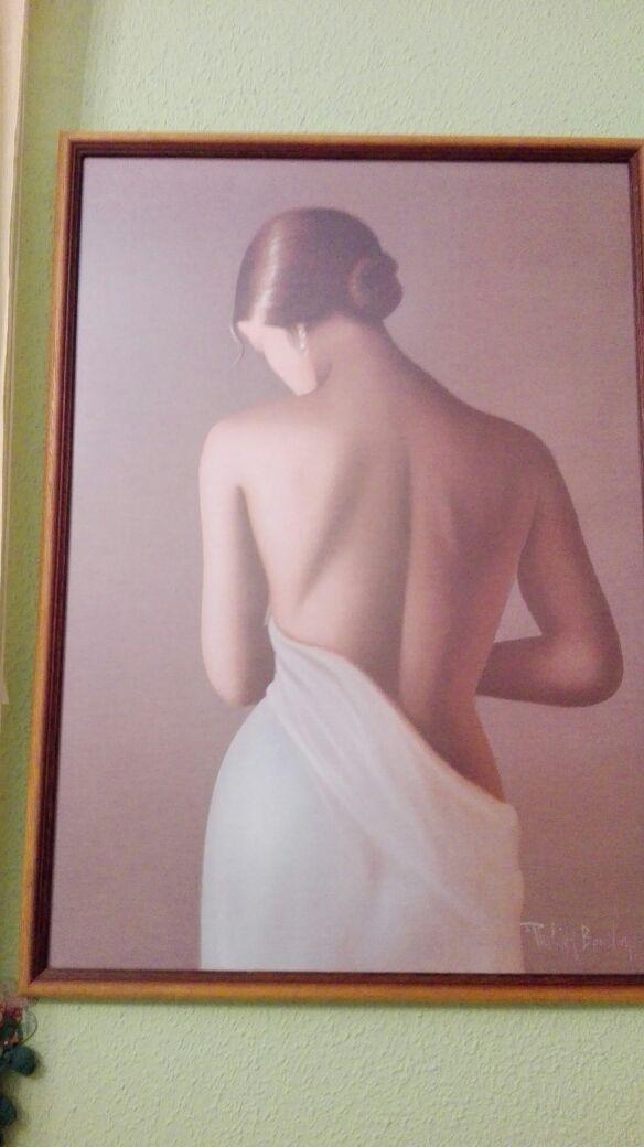 cuadro de mujer