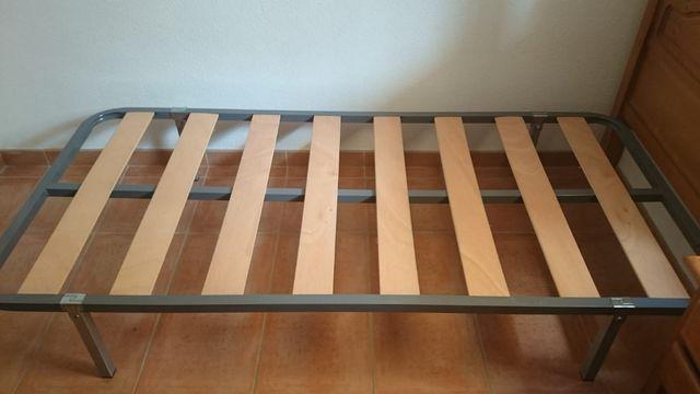 Cabeceros y somieres de cama individual