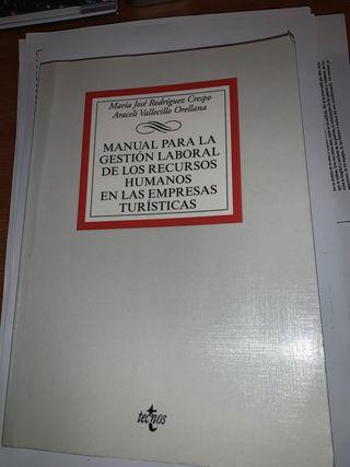 Manual legislación laborar en el turismo