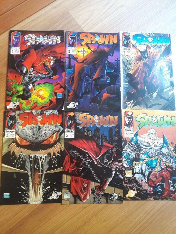 Colección Spawn del 1 al 23