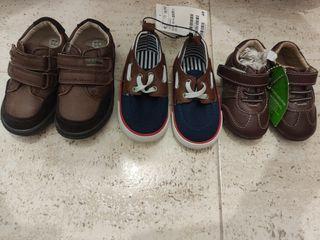 Pack de zapatos de niño nuevos