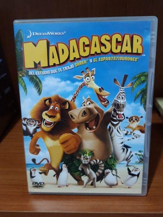 Película Madagascar.