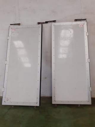 Puertas caja camión