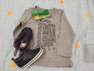 Pack ropa y zapatos niño