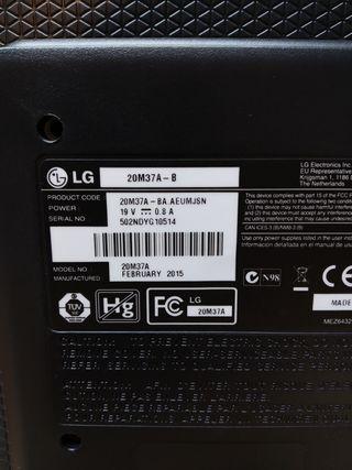 Monitor LED LG 20M37A-B