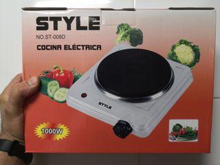 Cocina electrica portátil