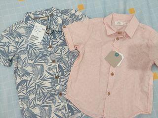Pack camisetas cortas Zara y H&M