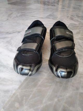zapatilla de ciclismo shimano