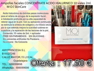 concentrate acido hialuronico puro 10*2ml