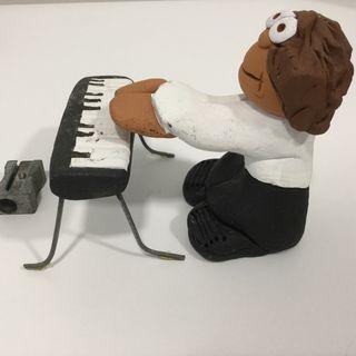 Pianista cerámica