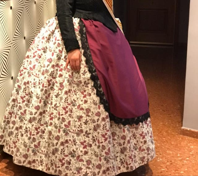 falda huertana