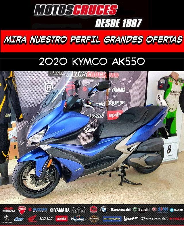 2020 KYMCO AK 550 MEJORES OFERTAS ASEGURADAS