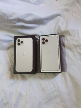 iPhone 11 pro blanco silver