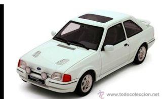 cambio coches otto models por ford escort rs turbo