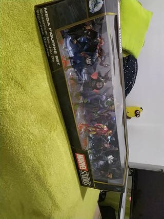 mega pack figuras marvel original