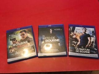 La trilogía de Bourne Blue-ray