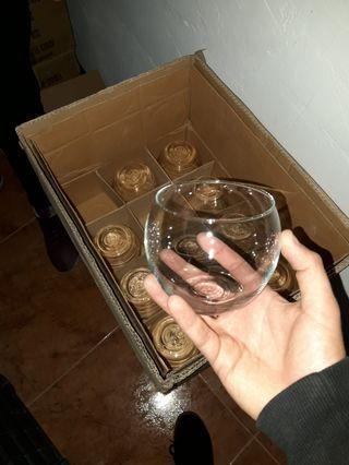 Recipientes cristal