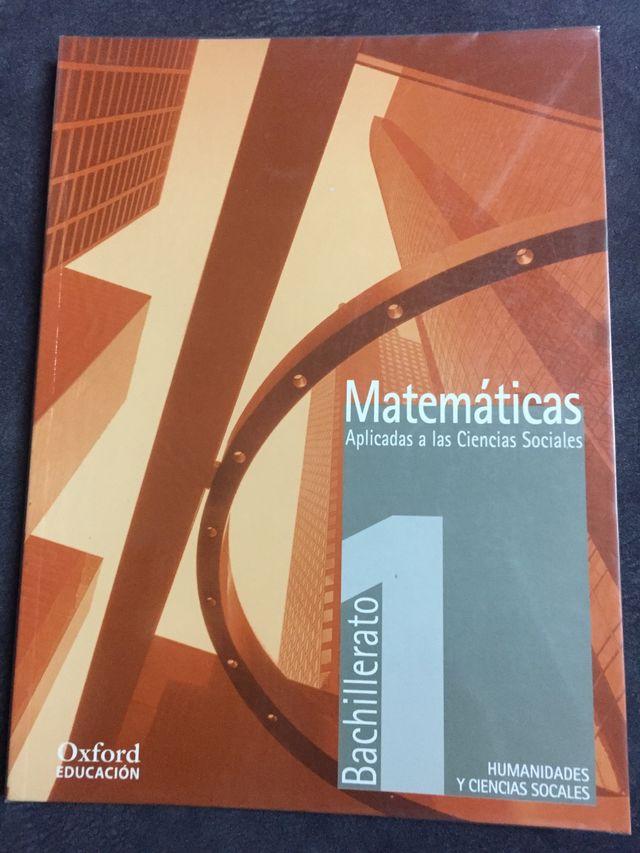 Libro de Matemáticas aplicadas a las C. Sociales