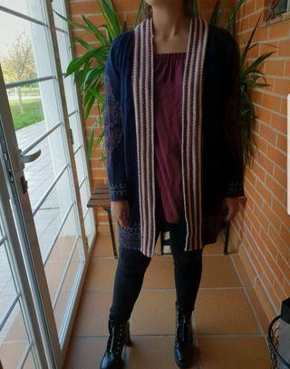 Chqqueta tipo Kimono Zara