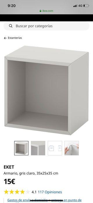 Cubo estantería