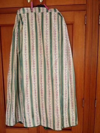 falda huertana y chaleco