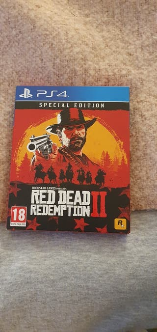 Red Dead Redemtion 2 PS4 (special edition)