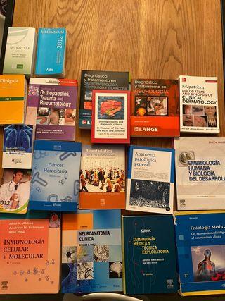 Libros Medicina (10-20 eur)