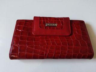 Cartera billetera de piel de Balenciaga