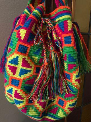 Bolso Wayuu auténtico nuevo