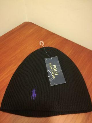 Gorro negro Ralph Lauren