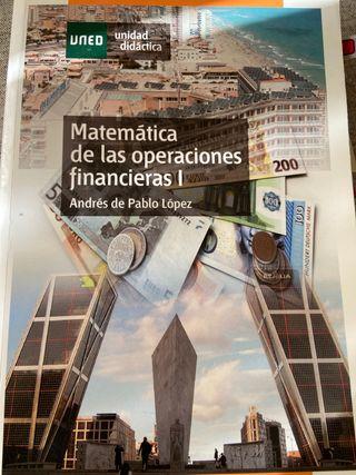 Matemáticas operaciones financieras I