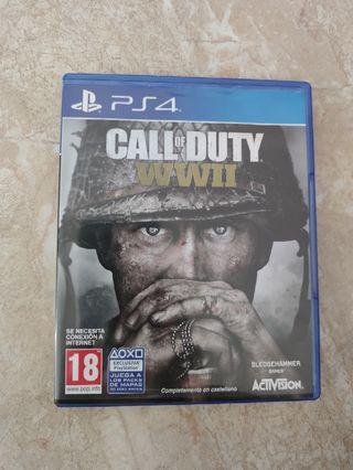 Playstation 4 Call Of Duty Wwii De Segunda Mano En Palma De