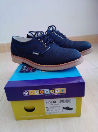 Zapato infantil talla 35
