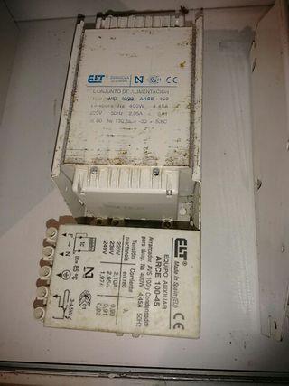 Balastro ETI 400 watt Clase 1