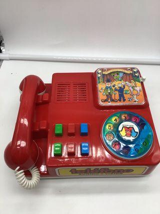 JUGUETE ANTIGUO TELÉFONO KUXAN AÑOS 70