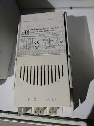 Balastro ETI 600 watt clase 1