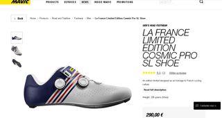 Zapatillas MAVIC COSMIC PRO SL T45.1/3 Edicion Lim