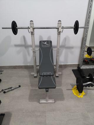 máquina gimnasio