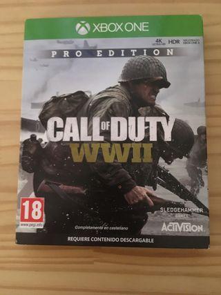 Call of duty ww 2 pro edición
