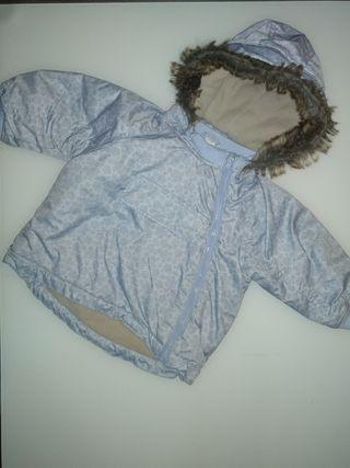 Abrigo impermeable bebé niño