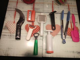 Lote de utensilios de cocina