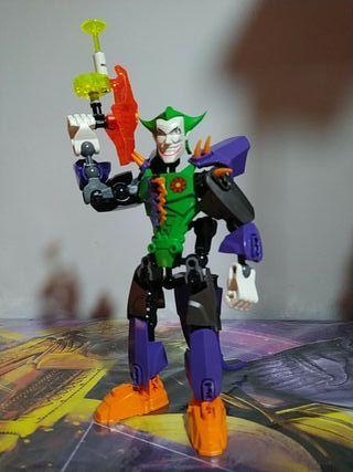 Joker ORIGINAL Lego estilo Bionicle.