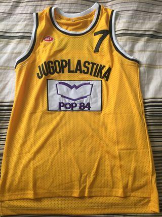 Camiseta Jugoplastica baloncesto Kukoc