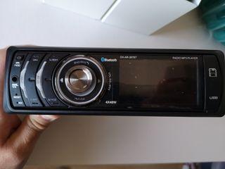 radio de coche con Bluetooth, usb, targeta sd