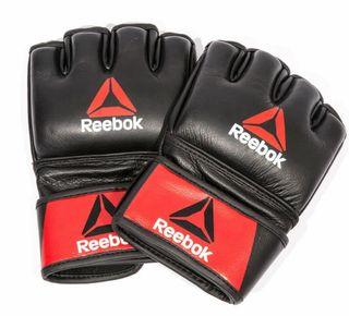 Guantes de cuero boxeo Reebok Combat Leather MMA