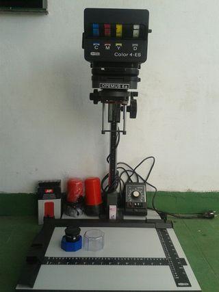 Ampliadora y equipo de laboratorio