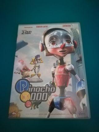 DVD Pinocho, incluye 2