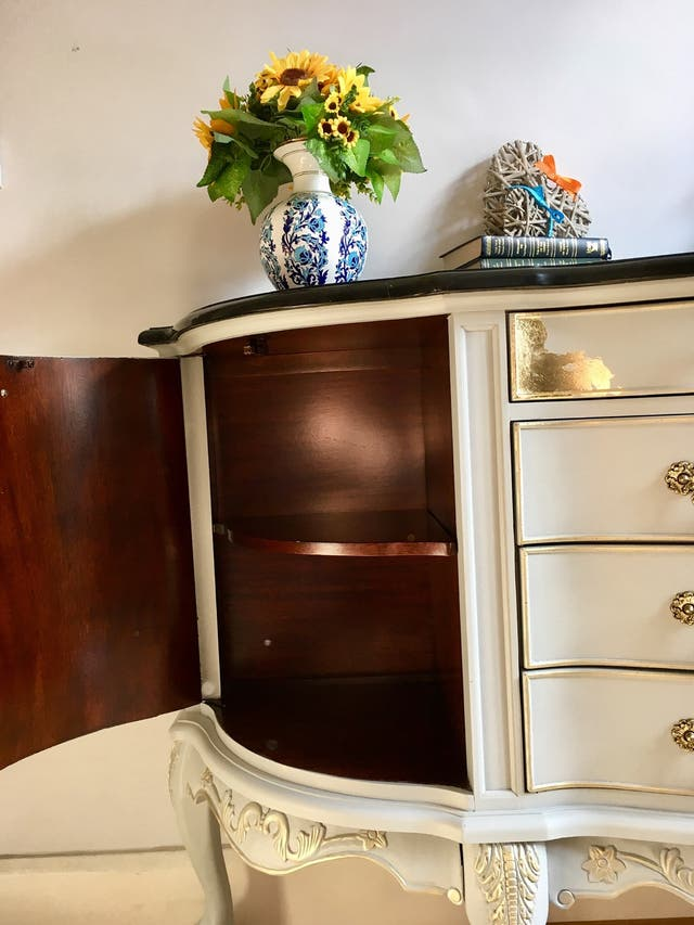 Unique Design Large Sideboard Cabinet marble