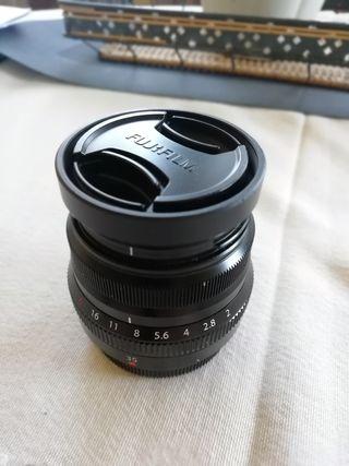 Objetivo Fujifilm 35mm F 2